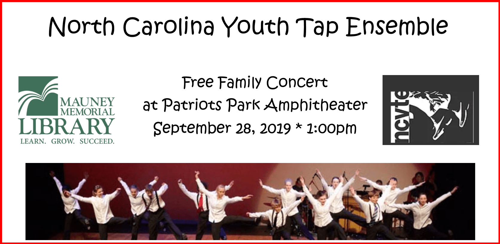 NC Youth Tap Ensemble